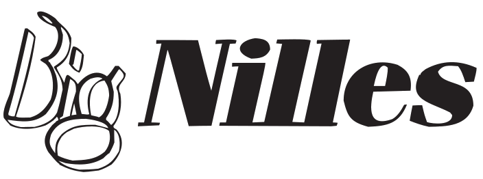 Logo Big Nilles schwarz transparent